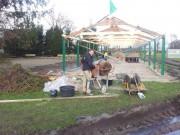 Nieuwbouw-overdekte trainingsbaan OKIA 2014